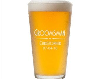 Custom Pint Glasses, SHIPS FAST, Engraved Pint Glasses, Personalized Pint Glass, Etched Pint Glasses, Custom Beer Glasses, Any Quantity
