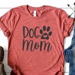 Dog Mom Shirt, Dog Mom T-shirt, Dog Mom Tshirt, Dog Mom Tee, Womens Dog Mom Shirt, Stay At Home Dog Mom Shirt