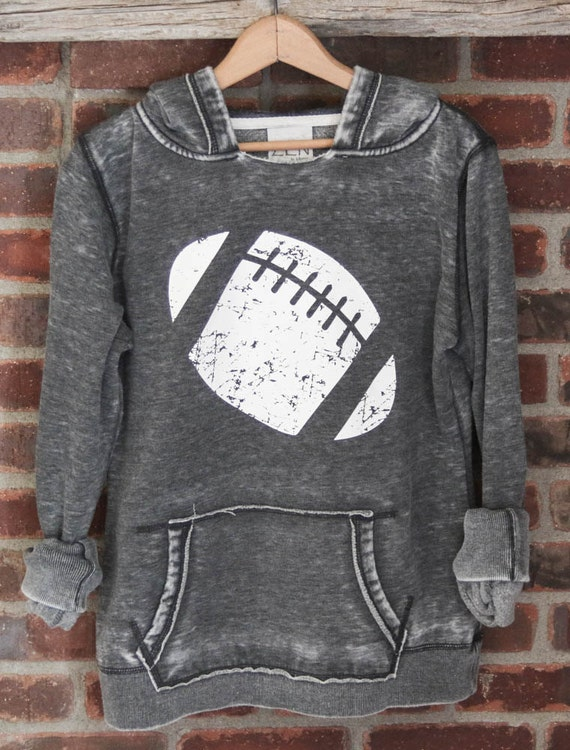 Football Girly Pullover Hoodie Sweatshirt, Football Sweatshirt, game day sweatshirt, gameday sweatshirt