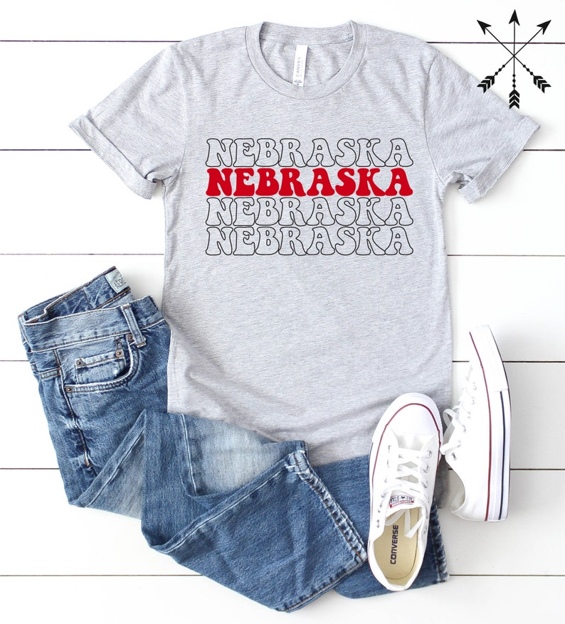 Nebraska Tee I Love Nebraska Shirt Nebraska t-shirt image 0