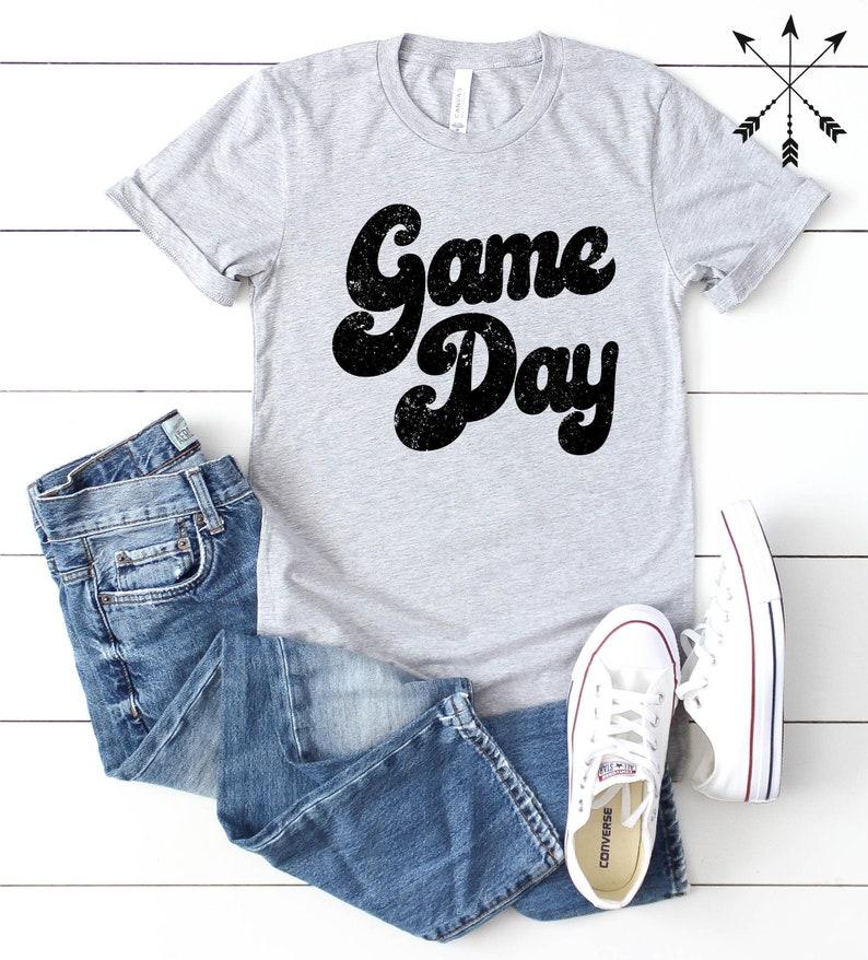 Game Day Shirt Game Day Tshirt Football Shirt Game Day image 0