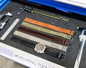 Leather RULER Watch Band ...