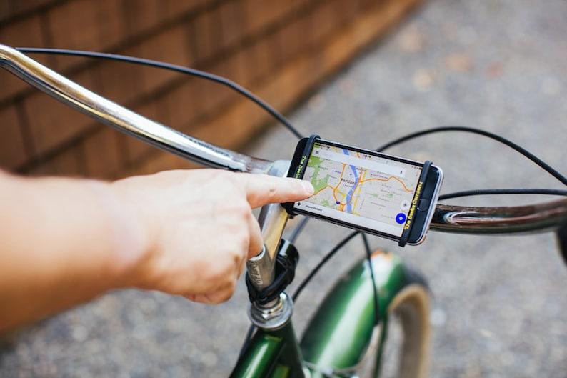 Bike or Peloton Handlebar Phone Holder Mount