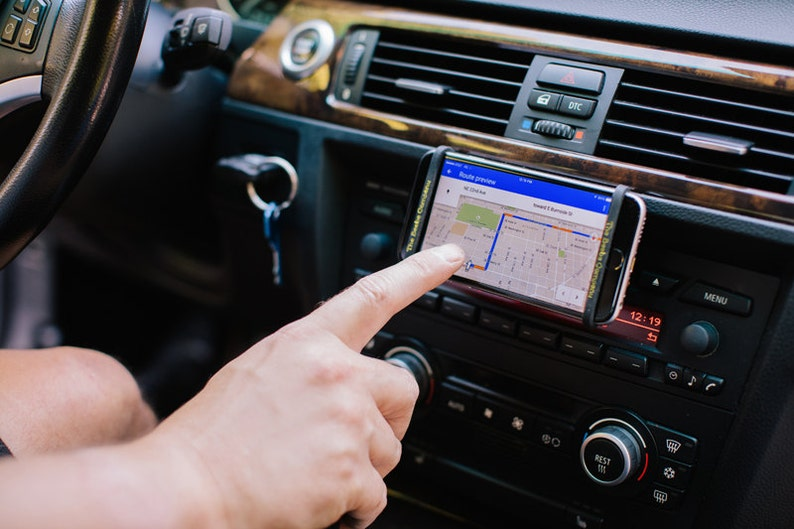 Car Phone Holder Mount Fits Any iPhone or Android image 0
