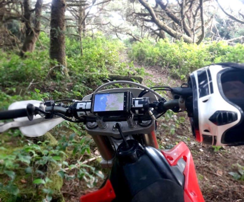 Motocross Dirt Bike Phone Holder Mount image 0