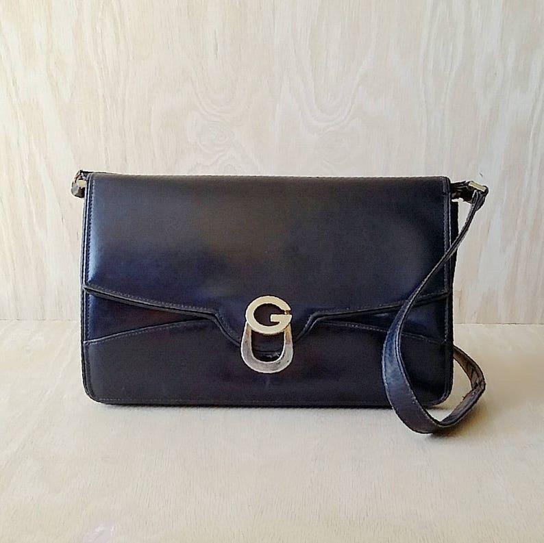 7dd315603e9 Black Gucci purse Made in Italy very old black Gucci bag