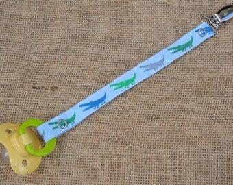 Alligator Pacifier Clip - Binky Clip