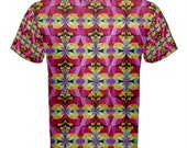 Flying Rainbow Lasagne cotton t-shirt