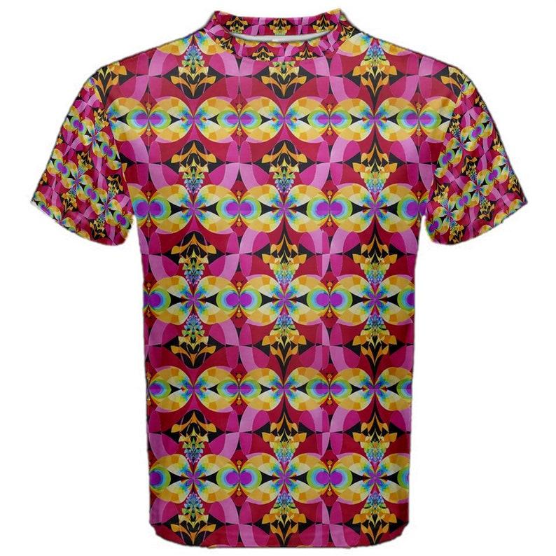 Flying Rainbow Lasagne cotton t-shirt image 0