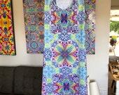 A-Line cotton summer dress