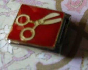Scissors  Italian Charm