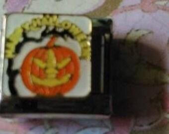 Happy Halloween - 9 mm Italian Charm