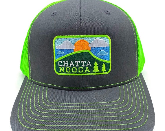 Chattanooga Embroidered Richardson Hats and Caps