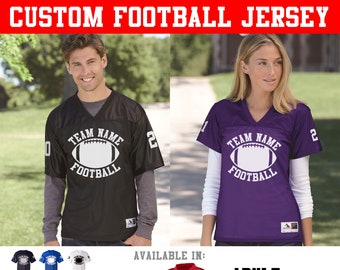 CUSTOM Matching Football Jerseys with Back Names and Sleeve Numbers