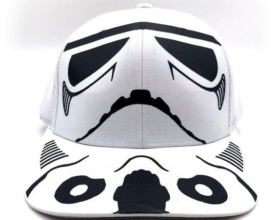 Fan Art: Retro-GangStar Trooper Costume Hat with Black Vinyl