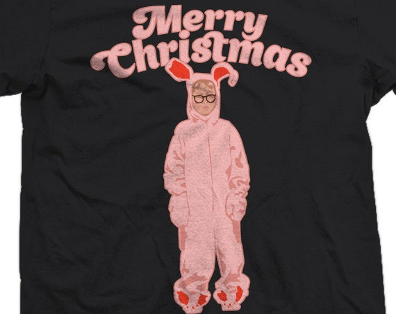 Ralphie Pink Bunny Costume A Christmas Story T-shirt