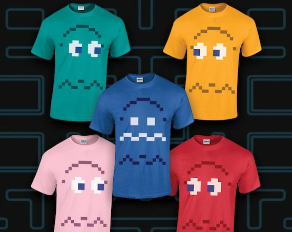 Pixel Ghost Costume shirts and GHOST 4 and 5 PACs...man!