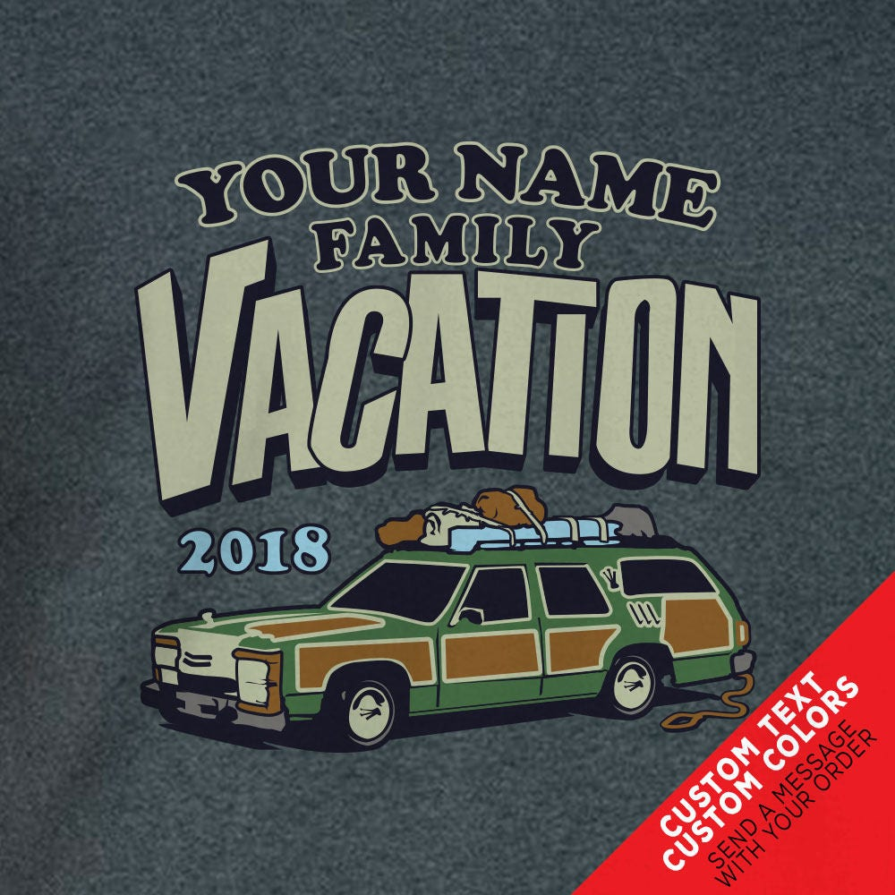 Custom Griswold Family Vacation Station Wagon T Shirts Great For Road Trips