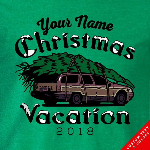Custom Family Name - Griswold Christmas Vacation Christmas Tree Shirts