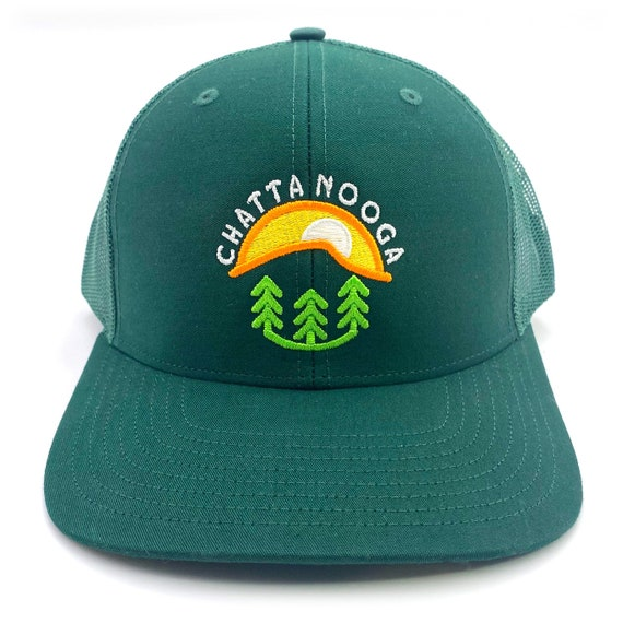 Embroidered Chattanooga Richardson Trucker Cap Snap-back Hat