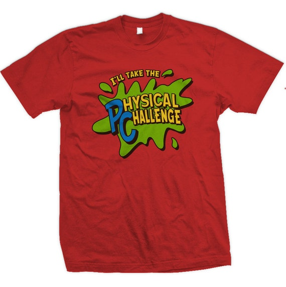 Retro Double Dare - I'll Take The Physical Challenge, T-shirt