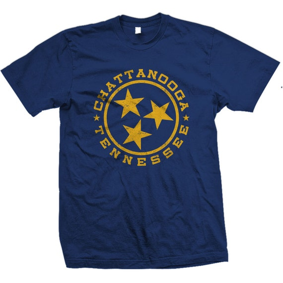 Vintage Chattanooga Tennessee State Flag Design also in Chattanooga, Nashville, Memphis, and Knoxville.