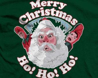 A Christmas Story Santa and Elves, Ho! Ho! Ho! T-shirts