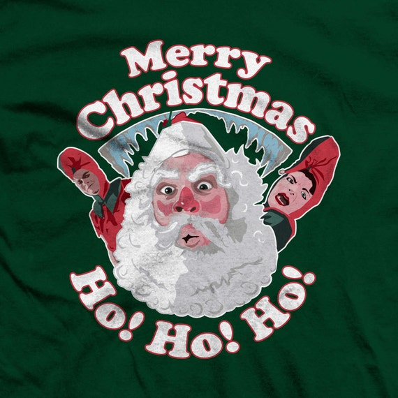 A Christmas Story Santa and Elves, Ho! Ho! Ho! T-shirts