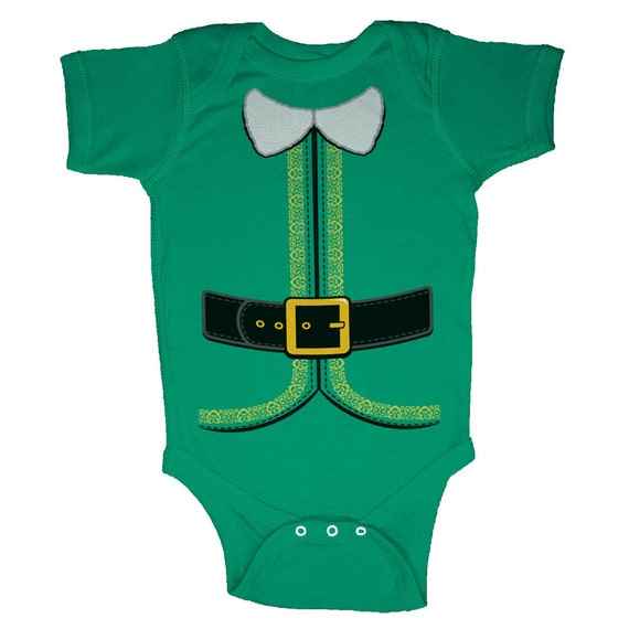 Christmas Elf Costume Infant Body Suits