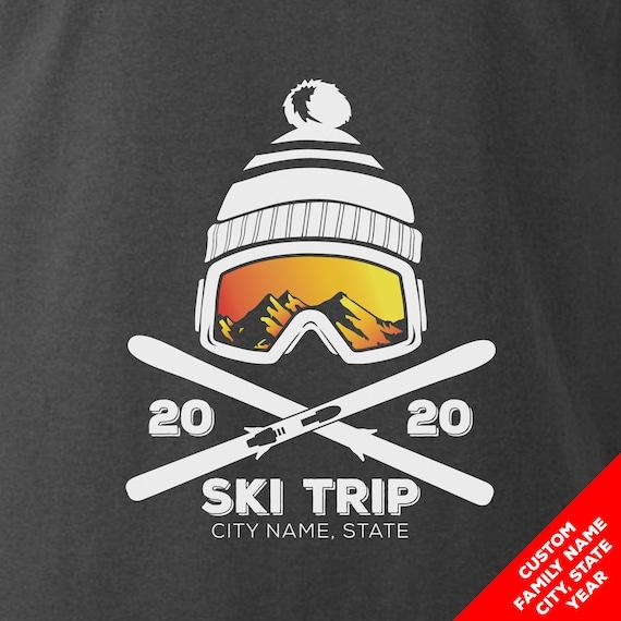 Custom Snow Ski Trip Ski Vacation Shirts for 2020
