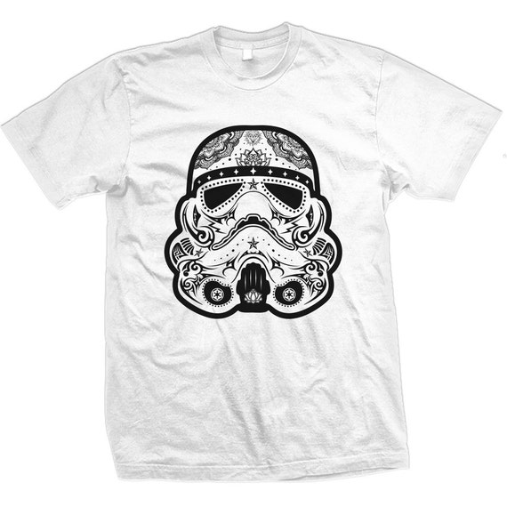 Sugar Skull Storm Trooper Tee