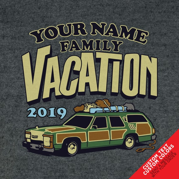 Custom Griswold Family Vacation Station Wagon T-shirts. Great for Road trips!