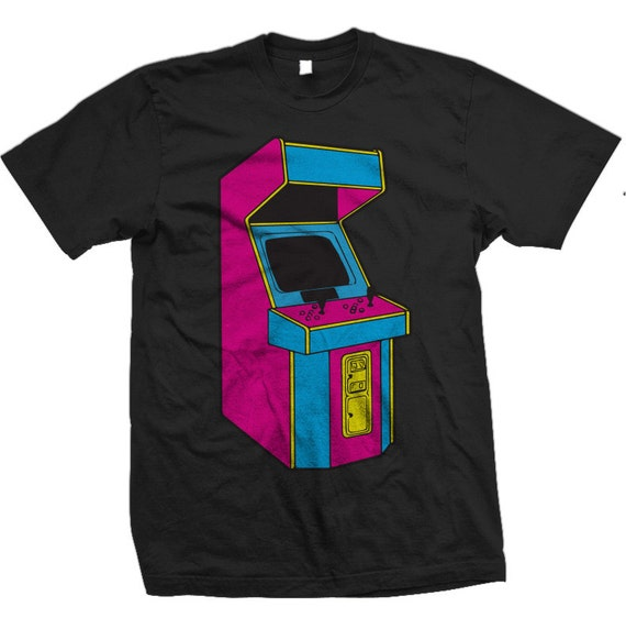 Stand Up, Old School Arcade Game (CMYK)