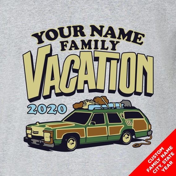 Custom Family Vacation 2019 Shirts with the Griswold Station Wagon