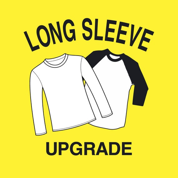 Upgrade to Long Sleeve or Raglan Jersey