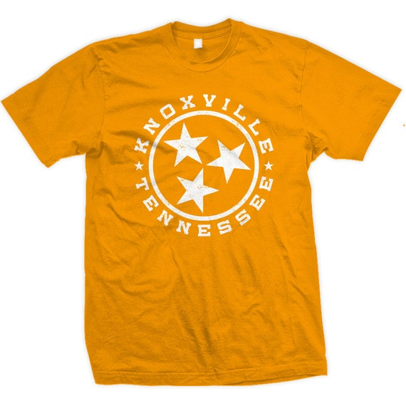 Vintage Knoxville Tennessee State Flag Design. Also in Chattanooga, Nashville, and Memphis.