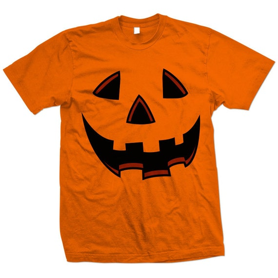 Orange Pumpkin Halloween Costume T-shirt