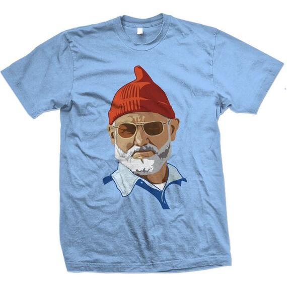 Steve Zissou Line Art T-shirt