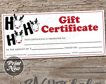 eye printable gift certificate template direct sales etsy