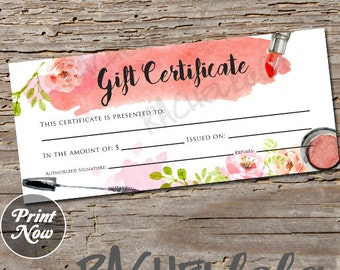 Scentsy Certificate Etsy - Gift certificate template ai