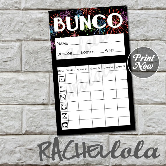It is a graphic of Terrible Printable Bunco Sheets