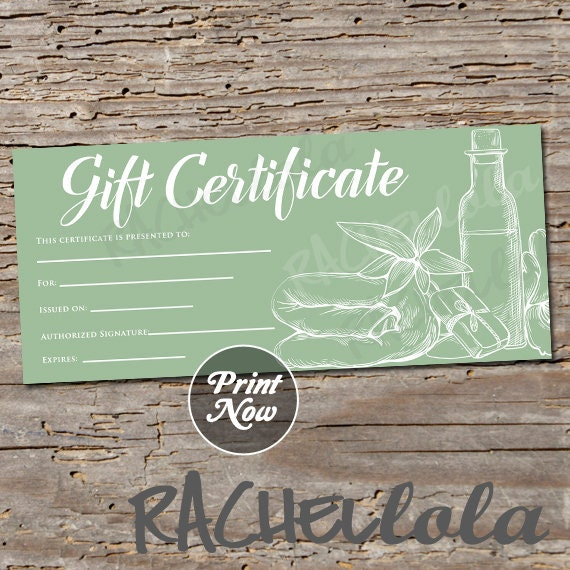 Spa Gift Certificate Template Free from i.etsystatic.com