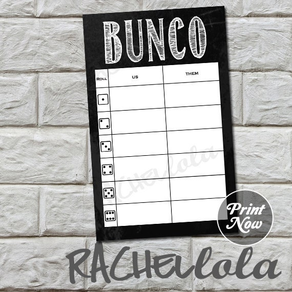 image about Printable Bunco Table Tally Sheets called Chalkboard bunco desk tally sheets, us them tally playing cards, ranking be aware card, bunko, recreation evening, immediate electronic obtain, printable template