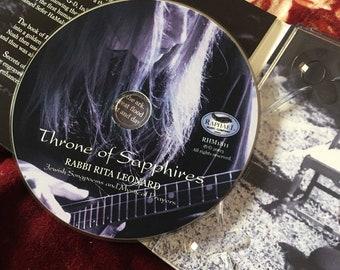Kaballah Rare Religious 9/11Album Throne of Sapphires rarest chants and ballads by Rabbi Leonard.