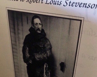 Robert Louis Stevenson Poetry the beloved Classic Scottish poet RLS STEVENSON The well k own childhood Verses treasure with storybo