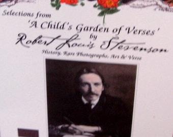 A Childʻs Garden of Verses Robert Louis Stevenson Poems 'Verses' of famed Scottish author.
