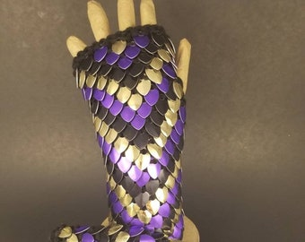 CUSTOM Dragonscale Gauntlets