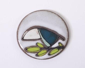 42. Teal Blue Toucanet Magnet.