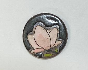 46. Black Magnolia Magnet.