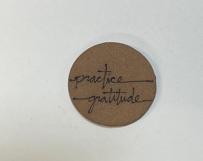 82. Practice Gratitude Magnet.